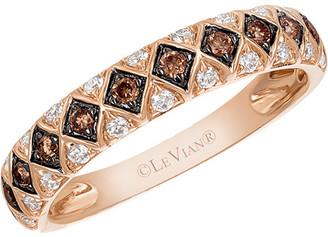 LeVian Le Vian 14K Rose Gold .35 Ct. Tw. Diamond Ring
