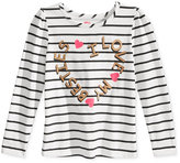 Epic Threads Little Girls' Mix and Match Besties Graphic-Print Long-Sleeve T-Shirt, Only at Macy's