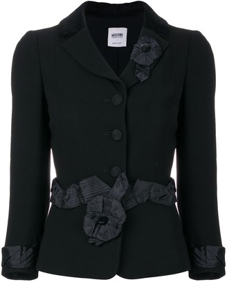 Moschino Pre-Owned belted jacket