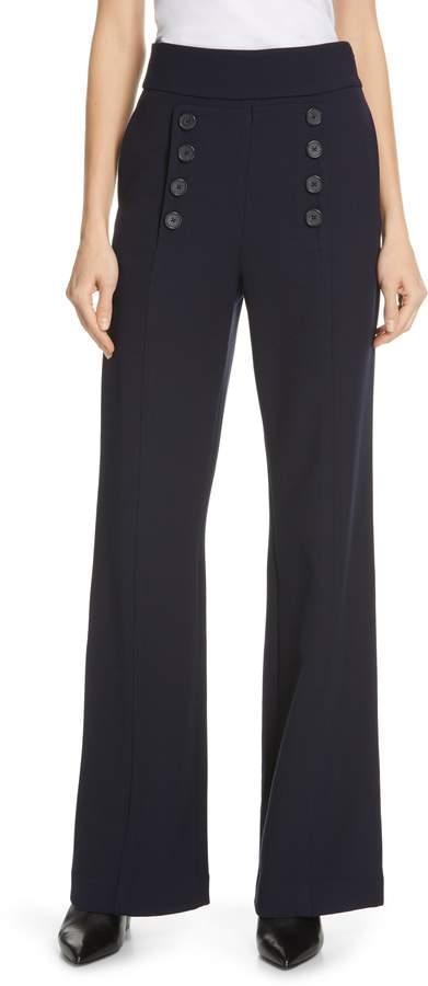 Ardina High Waist Wide Leg Sailor Pants
