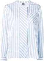 Lorena Antoniazzi Striped Flared Shirt