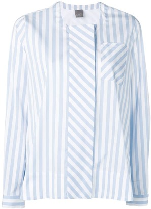 Lorena Antoniazzi Striped Flared Shirt