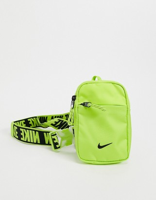 Nike Advance crossbody bag in volt