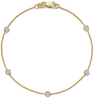 LeVian Suzy Diamonds Suzy 14K 0.50 Ct. Tw. Diamond Station Bracelet