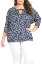 MICHAEL Michael Kors Plus Size Women's Hayden Cold Shoulder Top