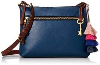 Fossil Women's Fiona Leather E/W Crossbody Handbag