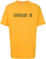 Palm Angels Legalize It T shirt - men - Cotton - M