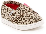 Toms Metallic Canvas Leopard Slip-On Shoe (Baby, Toddler, & Little Kid)