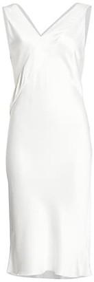 Helmut Lang Tuxedo Sleeveless Sheath Dress