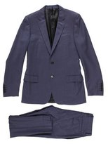 Christian Dior Wool Herringbone Suit