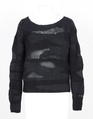 Lamberto Losani Women's Black Sweater