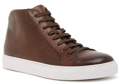 Magnanni Mack Perforated Leather Sneaker