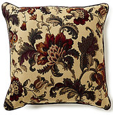 J Queen New York Catherine Jacobean Floral & Striped Square Pillow
