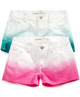Epic Threads Kids Shorts, Girls Dip Dye Shortie Shorts