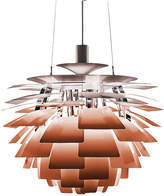 Louis Poulsen PH Artichoke Pendant Light - Copper - 230W HALOLUX Clear E27 - 600