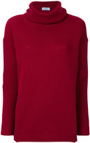 Prada elbow patch roll roll neck sweater