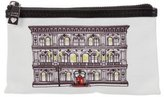 Moschino Large House Canvas Pouch