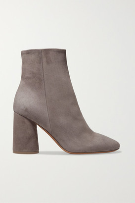 Vince Ridley Suede Ankle Boots - Gray