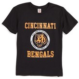 Junk Food Clothing Boy's Kick Off Cincinnati Bengals T-Shirt