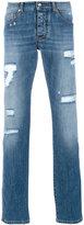 Ermanno Scervino distressed denim jeans