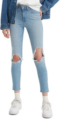 Levi's Women's 721 Modern Fit High Rise Skinny Ankle Jeans