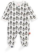 Infant Boy's Magnetic Me Print Footie