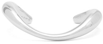 Charlotte Chesnais Turtle Rhodium-plated Sterling-silver Bangle - Silver