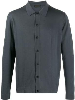 Roberto Collina button-up knitted cardigan