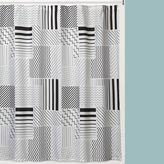 Asstd National Brand Modern Angles Shower Curtain