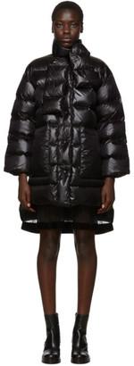 RED Valentino Black Down Nylon Jacket