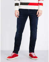 7 For All Mankind Ronnie Luxe Slim-fit Tapered Mid-rise Jeans