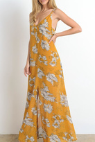Hommage Beautiful Floral Print Maxi