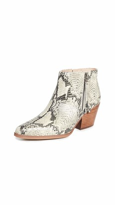 Sam Edelman Womens Walden Beach Multi Pacific Snake Leather 7 M