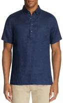 Onia Josh Linen Regular Fit Popover Shirt