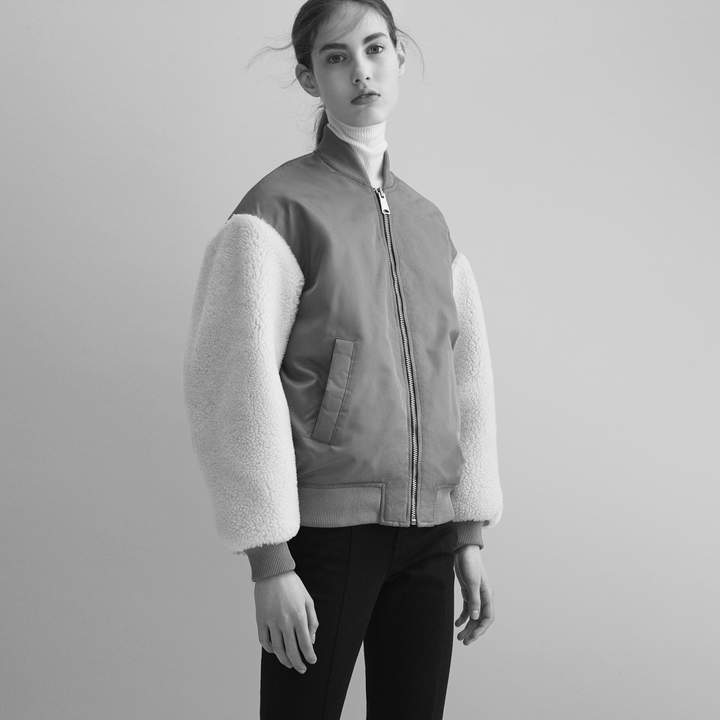 Maje Sheepskin jacket
