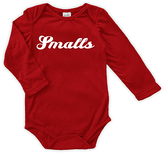 Urban Smalls Red 'Smalls' Long-Sleeve Bodysuit - Infant