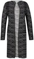 Hugo Boss Faslina Italian Knit Coat S Patterned