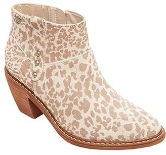 Roxy Wynette LX Ankle Boot (Beige) Women's Pull-on Boots