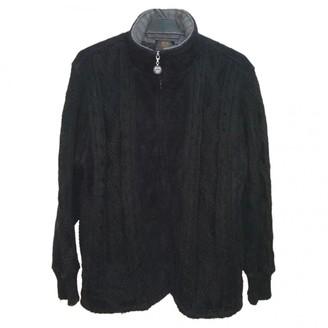 MCM Black Wool Jackets