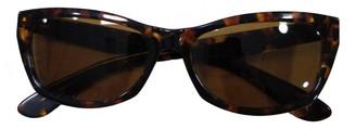 Ray-Ban New Wayfarer Brown Plastic Sunglasses