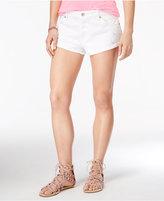 Roxy Juniors' Peaceful White Wash Cutoff Shorts