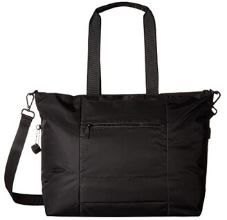 Hedgren Swing Large Tote with RFID (Black) Tote Handbags