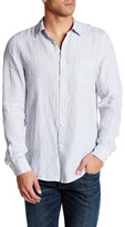 Onia Abe Linen Trim Fit Shirt