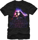 Fifth Sun Star Wars Crossing Lightsabers Adult T-shirt