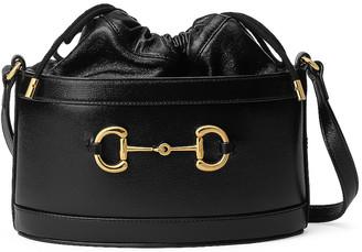 Gucci Morsetto Bucket Bag in Black | FWRD