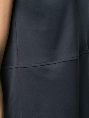 Antonelli crop-sleeve cotton T-shirt
