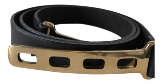 Kaviar Gauche Black Leather Belts