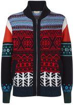 Burberry Fair Isle Knit Sweater