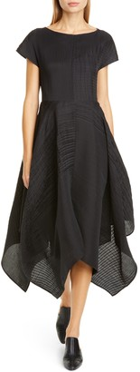 Co Fit & Flare Midi Dress