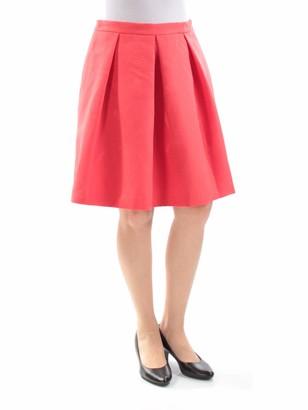 Anne Klein Women's Lotus Jaquard Pleat Skirt